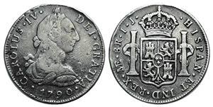 Mexico, Carlos IV (1788-1808). AR 8 Reales ...