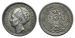 Netherlands, Wilhelmina I (1890-1948). 25 ...
