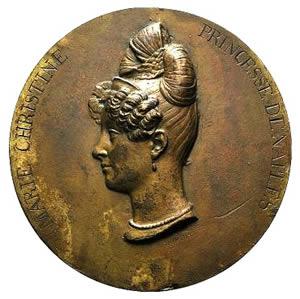 Italy, Ferdinanda Maria Cristina di Borbone ...
