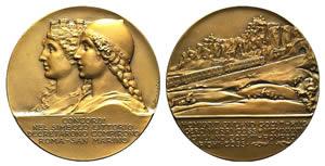 Italy, Æ Medal 1932 (50mm, 65.3g, 12h), ...