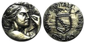 Italy, AR Medal 1970 (50mm, 104.5g, 1h), ...