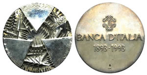 Italy, AR Medal 1993 (59mm, 151.7g), opus A. ...