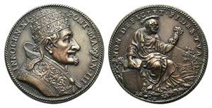 Papal, Innocenzo XI (1676-1689). Æ Medal ...
