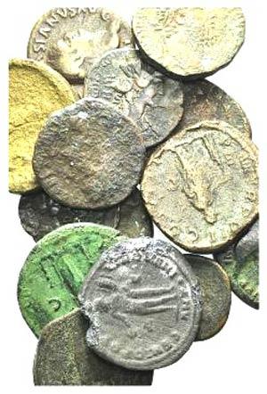 Lot of 15 Greek (2), Roman Imperial (11), ...