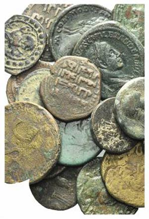 Lot of 21 Greek (2), Roman Provincial (2), ...