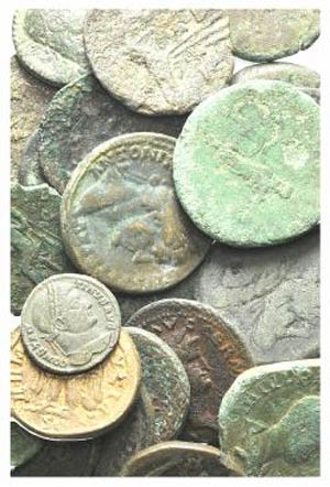 Lot of 43 Greek and Roman Æ coins, to be ...