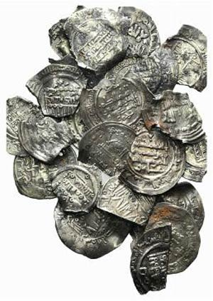 Lot of 33 AR chipped Islamic Dirhems, to be ...