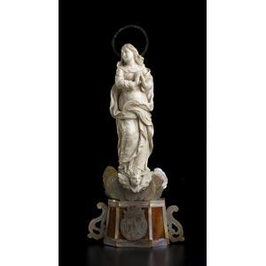 Vergine Immacolata. Scultura in avorio - ...