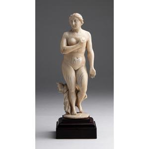 Venus. A carved ivory - possibly Portugal, ...