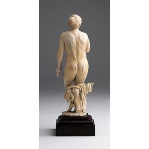Venus. A carved ivory - possibly ...