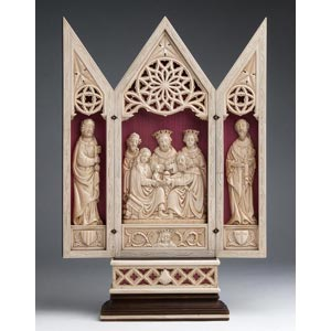 LAdorazione dei Magi con San Pietro e San ...