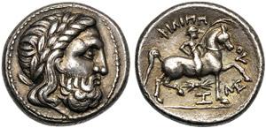 Danubio, Tetradramma, III sec. a.C.; AR (g ...