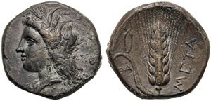 Lucania, Statere, Metaponto, c. 330-290 ...