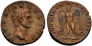 Divo Augusto (Nerva, 96-98), Asse, Roma, c. ...