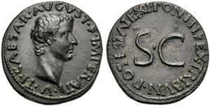Tiberio, come Cesare (Augusto, 27 a.C. - 14 ...