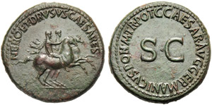 Nerone e Druso cesari (Gaio, 37-41), ...
