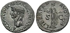 Claudio (41-54), Asse, Roma, 50-54 d.C.; AE ...