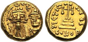 Costante II con Costantino IV (641-668), ...