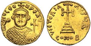 Leonzio (695-698), Solido, Costantinopoli, ...