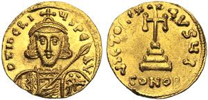 Tiberio III (698-705), Solido, ...