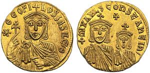 Teofilo (829-842), Solido, Costantinopoli, ...