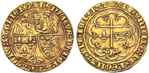 Francia, Enrico VI (1422-153), Saluto ...