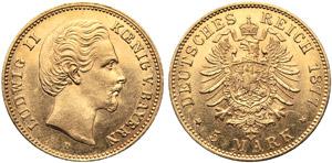 Germania, Baviera, Ludwing II (1864-1886), 5 ...