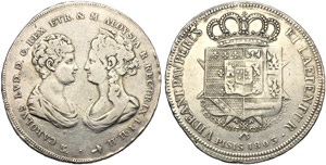 Italia, Firenze, Carlo Ludovico di Borbone e ...