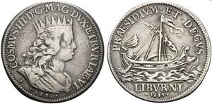 Italia, Livorno, Cosimo III de Medici ...