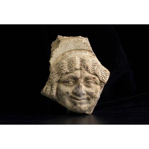 Antefissa romana con testa di Medusa I ...