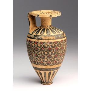 Aryballos corinzio Fine del VII secolo a.C.; ...