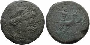 Campania, Capua, As, c. 216-211 BC; AE (g ...