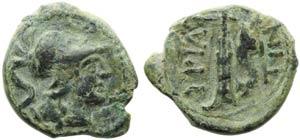 Apulia, Hyrium, Bronze, III century BC; AE ...