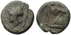 Anonymous, Half unit, Neapolis (?), post 276 ...