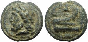 Anonymous, Cast Semis, Rome, c. 225-217 BC; ...