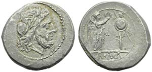 Anonymous, Victoriatus, Roma, post 215-214 ...
