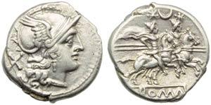 Anonymous (first crescent series), Denarius, ...