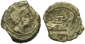Anonymous (AT or TA series), Sextans, Rome, ...