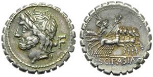 L. Cornelius Scipio Asiaticus, Denarius ...