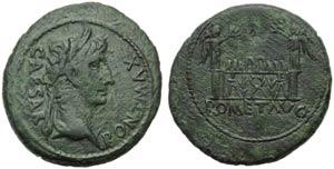 Augustus (27 BC - AD 14), As, Lugdunum, ...