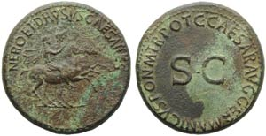 Nero and Drusus Caesares (Gaius, 37-41), ...