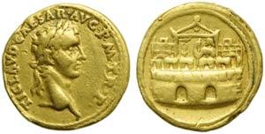 Claudius (41-54), Aureus, Rome, AD 41-42; AV ...