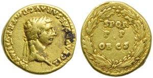 Claudius (41-54), Aureus, Rome, AD 46-47; AV ...