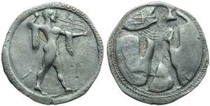 Lucania, Poseidonia, Statere, c. 530-500 ...