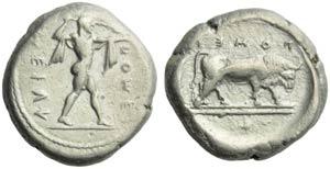 Lucania, Poseidonia, Statere, c. 470-445 ...