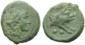 Lucania, Paestum, Sestante, c. 218-201 a.C.; ...