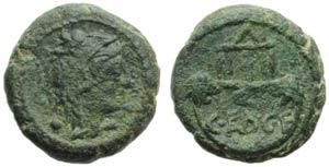 Zecca incerta italica (Paestum ?), Bronzo, ...