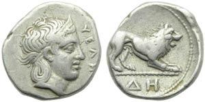 Lucania, Velia, Didracma, c. 400-340 a.C.; ...