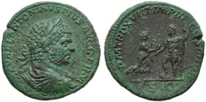 Caracalla (198-217), Sestertius, Rome, AD ...