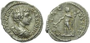 Geta, as Caesar (Septimius Severus, 193-211, ...